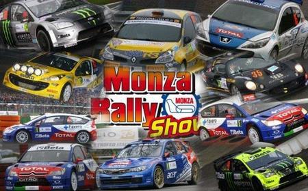 Comienza el Rally de Monza. Espectáculo y celebridades en pista