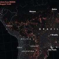 Hay un debate sobre la dimensión real de los incendios del Amazonas: estos son los datos que tenemos por ahora