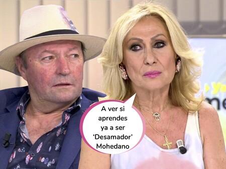 """Rosa Benito se harta de los intentos de Amador Mohedano para volver con ella y lo bloquea de todas partes: """"¡Ya no puedo más, déjame en paz!"""""""
