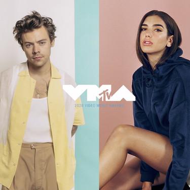 La pataleta de Dua Lipa y el 'me enfado y no respiro' de Harry Styles con los MTV VMA's 2020