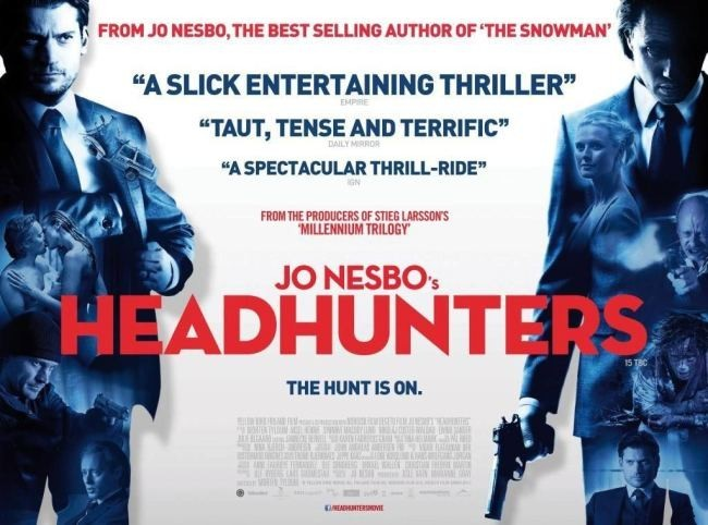 Un cartel de Headhunters