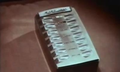 Curioso anuncio de uno de los primeros televisores a color con mando a distancia