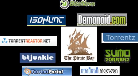 10 alternativas a Pirate Bay