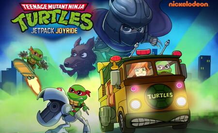 Las Tortugas Ninja siguen a tope este 2021 y ahora modifican Jetpack Joyride por completo con una colaboración muy especial