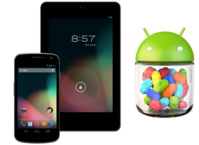 Nexus 7 y Galaxy Nexus comienzan a recibir Android 4.2 (Jelly Bean)