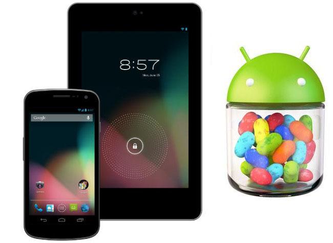 Nexus 7 y Galaxy Nexus