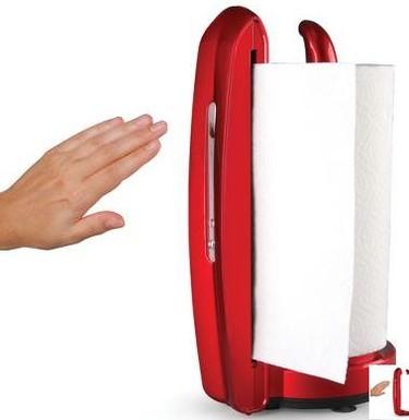 Dispensador automático de papel de cocina