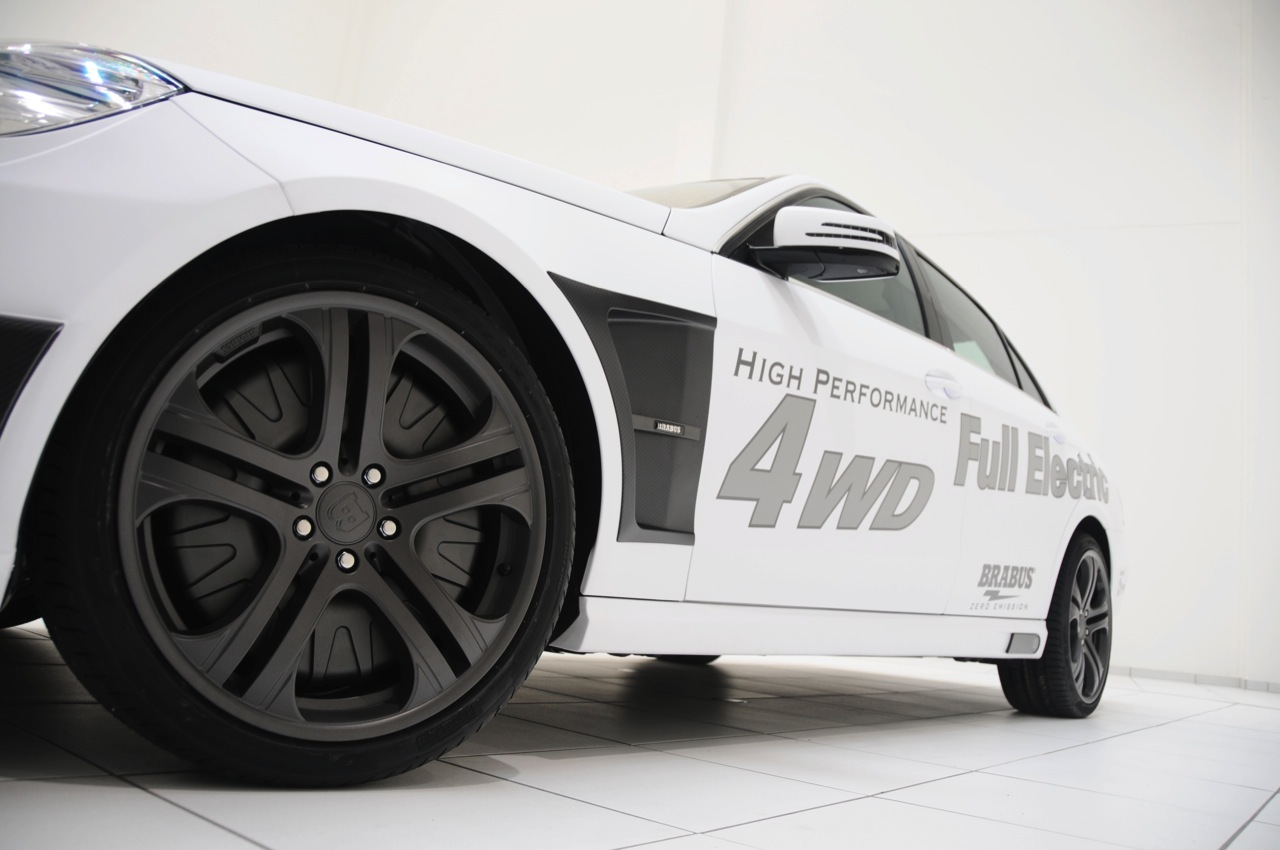 Foto de Brabus Mercedes-Benz Clase E 4WD eléctrico (1/8)