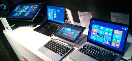 Préstamo de dispositivos Windows 8 táctiles