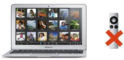 El nuevo MacBook Air no tiene puerto de infrarrojos