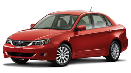 Subaru Impreza Acrópolis, edición especial exclusivamente en sedán