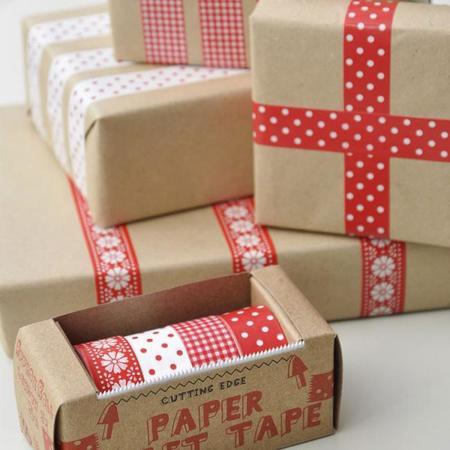 Envuelve los regalos de Navidad tú mismo