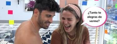 El sospechoso (y enorme) bulto en los calzoncillos de Noel Bayarri durante un reto con Marta Peñate en 'Solos'