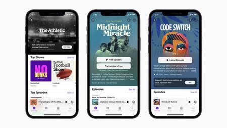 Apple Podcasts anuncia novedades: así funcionarán las nuevas suscripciones de pago