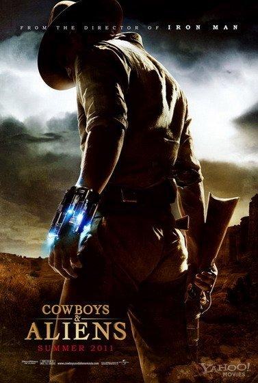 'Cowboys & Aliens', cartel y tráiler
