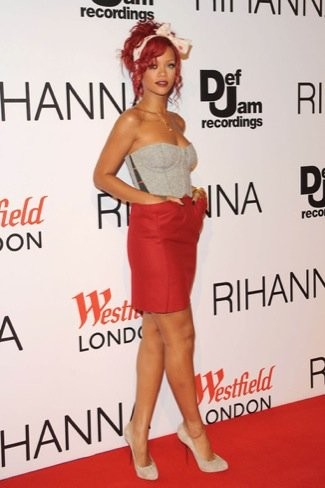 Rihanna ahora quiere ser una chica pin-up