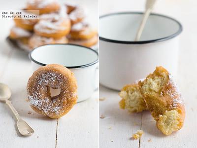 Receta de rosquillas caseras de anís