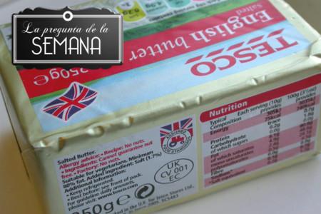 ¿Sueles leer las etiquetas de los alimentos? La pregunta de la semana