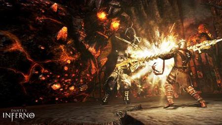 Dante's Inferno - Demonio de lava