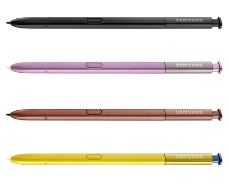 Samsung Galaxy Note 9 S Pen Colores