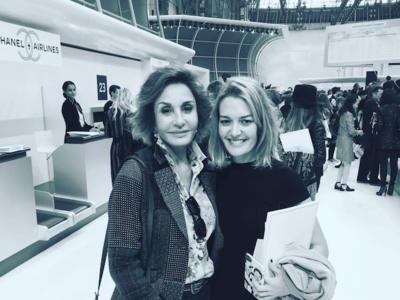 Chanel invita a Marta Ortega, la hija del poderoso Amancio Ortega, a volar en el aeropuerto más estiloso