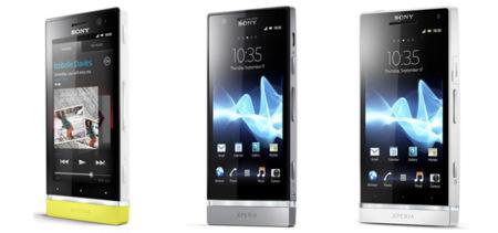 Comparativa de la nueva gama Sony Xperia NXT