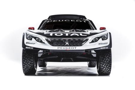 Peugeot 2008 Dakar Frontal