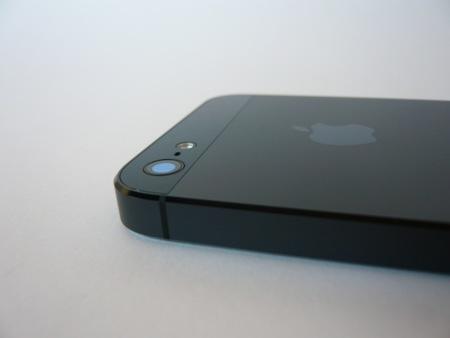 iPhone 5 cámara lente