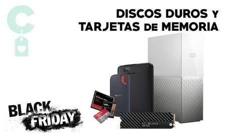 Black Friday 2019: las 19 mejores ofertas en discos duros y tarjetas de memoria