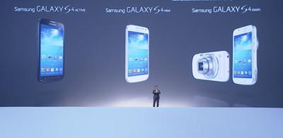 Samsung presenta los Galaxy S4 Active, mini y Zoom, y desvela la Galaxy NX y Ativ Q
