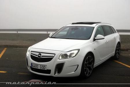 Opel Insignia Sports Tourer OPC, prueba (parte 2)