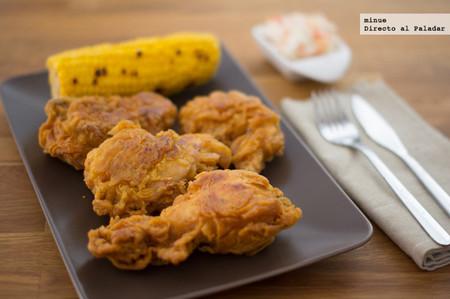 Pollo estilo Kentucky - presentación