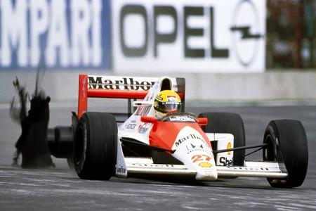 Senna Mexico F1 1988