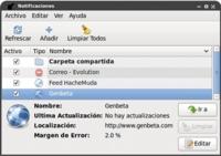 Specto: un notificador de cambios y actualizaciones para Gnome