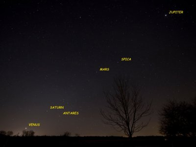 Esta noche se alinean todos los planetas por primera vez en once años