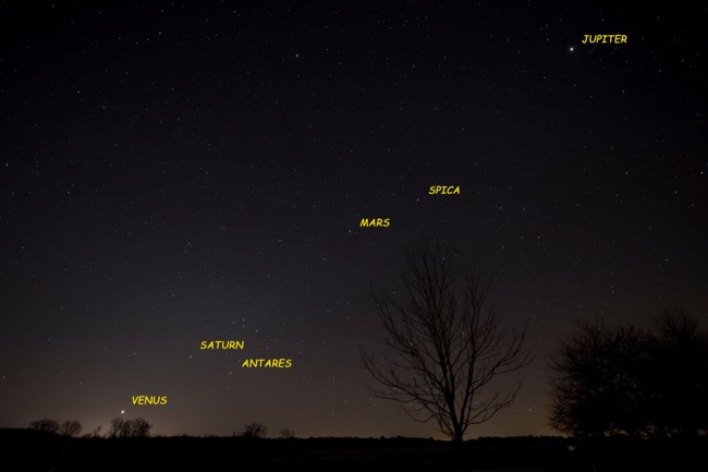 Ken Christison Morning Planets Before Dawn January 18