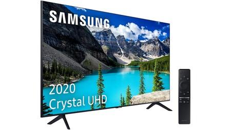 El televisor Samsung Crystal UHD 2020 a precio mínimo histórico en Prime Day: 399 euros para un smart TV básico con 4K y HDR10