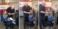 Padre soltero se apunta a clases de peluquería para peinar a su hija