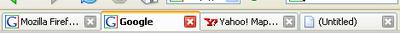 Versión Firefox con un toque Google
