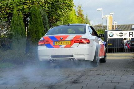 BMW M3 para la policía holandesa
