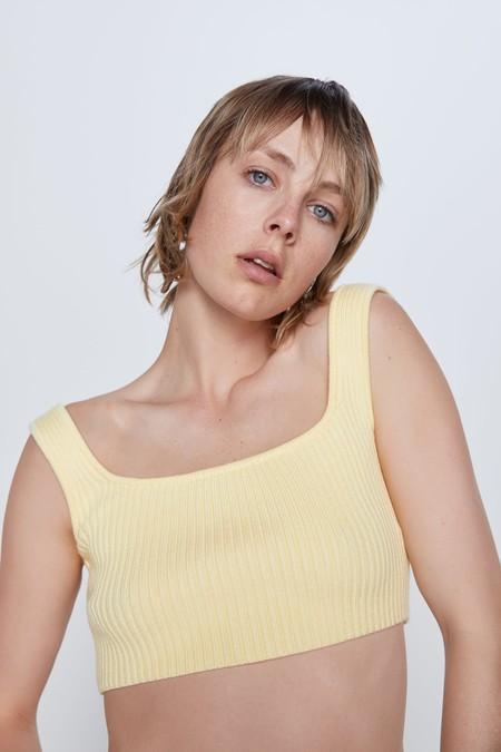 Zara Cropped Top 01