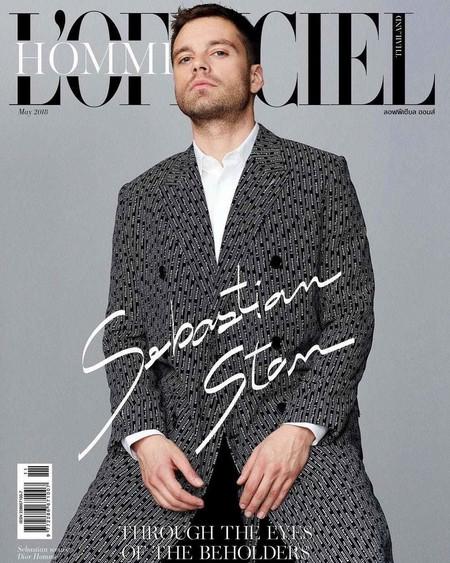 Sebastian Stan Es El Hombre Mas Cool Del Momento Y Tres Portadas De Revista Lo Confirman 2