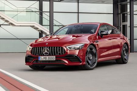 """El Mercedes-AMG GT de cuatro puertas ya tiene nueva versión de acceso """"GT 43"""", de seis cilindros y 367 CV"""