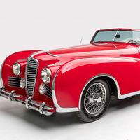 Este precioso y único Delahaye Type 175 Cabriolet, que perteneció Elton John, se ha subastado por 350.000 dólares