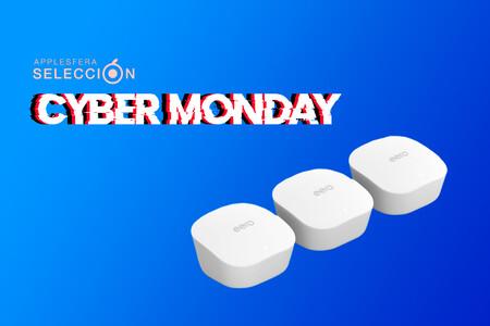 Cyber Monday 2020: el pack de tres routers mesh eero de Amazon están rebajados a su precio mínimo histórico, por 167,40 euros