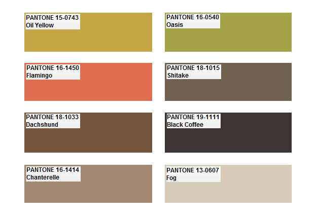 Tendencias en color para 2012 según Pantone