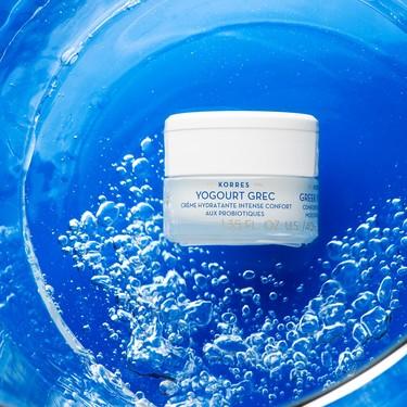 La nueva línea facial de Korres viene cargada de yogur griego, es super hidratante e ideal para las pieles más secas y sensibles