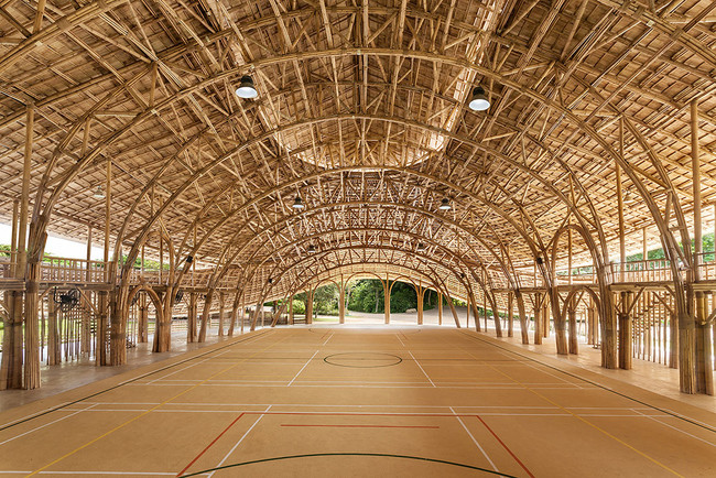 Gimnasio Bambu 2
