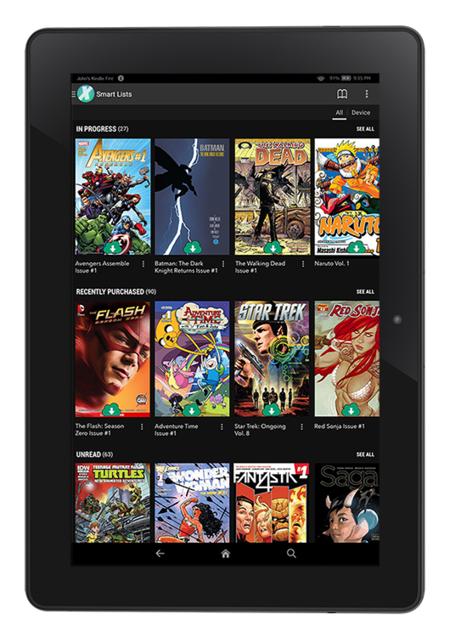 Comics en tablets