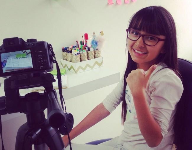Hola, tengo 10 años y soy una estrella en YouTube